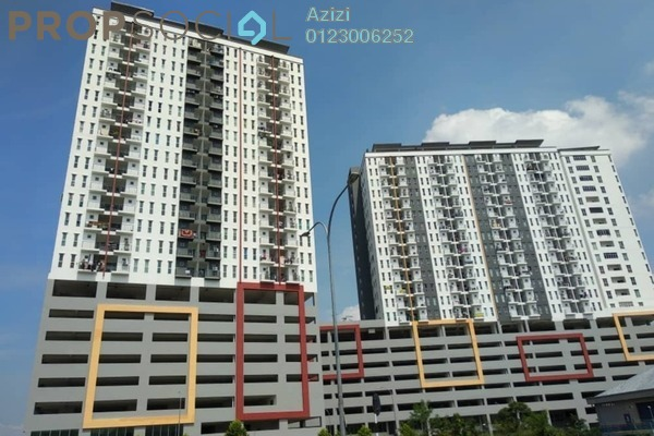 Serviced Residence For Sale in Ascotte Boulevard, Semenyih Freehold Unfurnished 3R/2B 290k