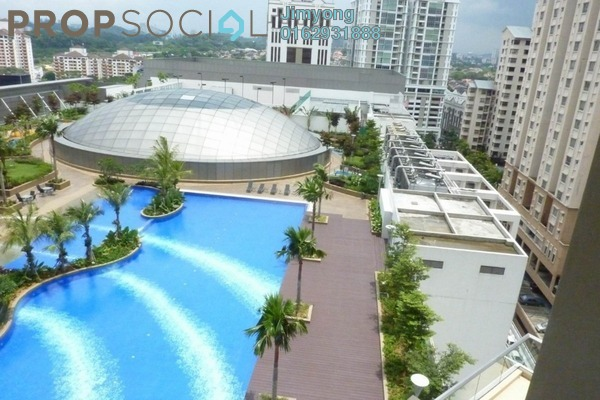 Duplex For Rent in Tropicana City Tropics, Petaling Jaya Freehold Fully Furnished 2R/2B 3.9k