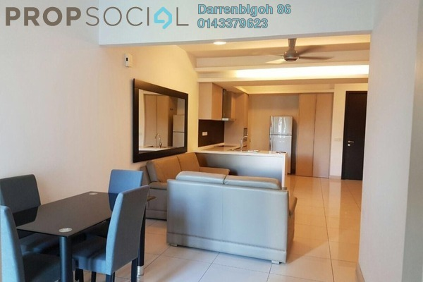 Condominium For Sale in Suasana Bukit Ceylon, Bukit Ceylon Freehold Semi Furnished 1R/1B 790k