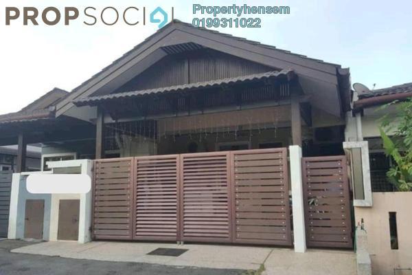 Terrace For Sale in Taman Seri Budiman, Bandar Mahkota Cheras Freehold Fully Furnished 3R/2B 470k