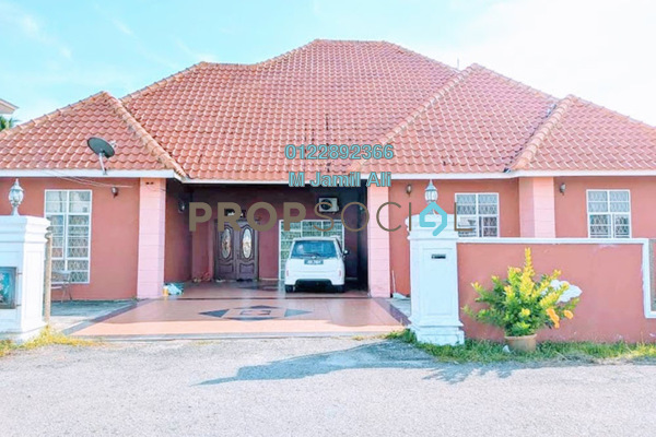 Bungalow For Sale in Taman Pagoh Jaya, Muar Leasehold Unfurnished 5R/4B 550k