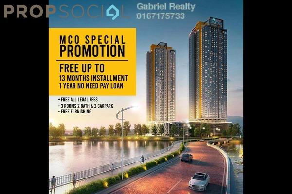 For Sale Condominium at 99 Residence, Kuala Lumpur Freehold Semi Furnished 3R/2B 430k