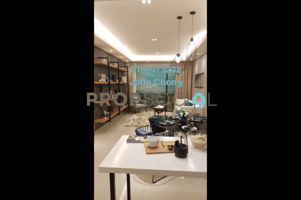 Condominium For Sale in Lemanja, Kepong Freehold Semi Furnished 3R/2B 568k