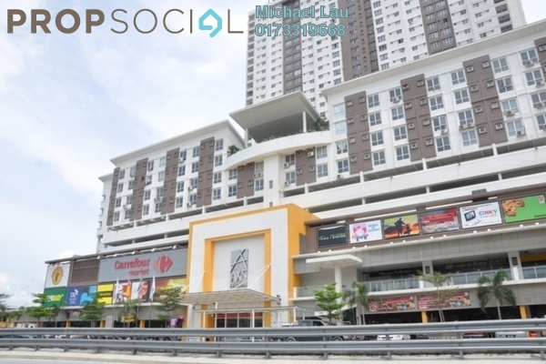 Shop For Sale in Axis Atrium, Pandan Indah Freehold Unfurnished 0R/0B 1.18m