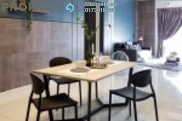 Condominium For Sale in The Loft @ ZetaPark, Setapak Freehold Semi Furnished 3R/2B 610k