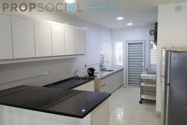 Terrace For Sale in Seri Jalil, Bukit Jalil Freehold Fully Furnished 7R/7B 1.89m