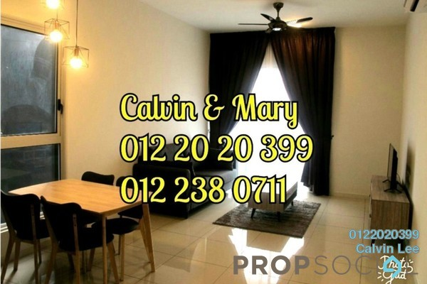 Condominium For Rent in Sunway GEO Residences, Bandar Sunway Freehold fully_furnished 2R/2B 2.8k