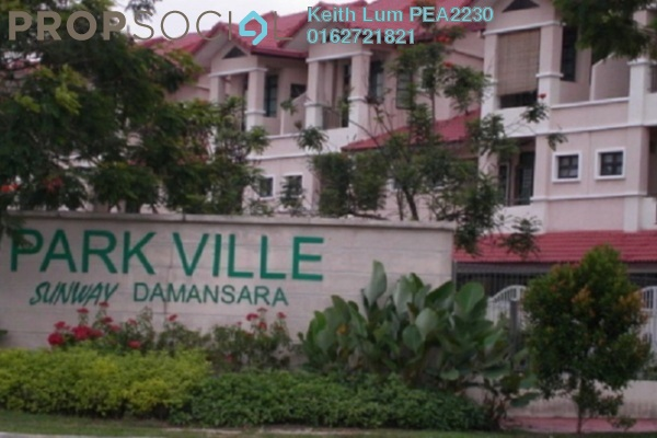 Townhouse For Sale in Parkville Garden Townhouse, Sunway Damansara Freehold Semi Furnished 3R/3B 805k