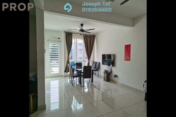 Townhouse For Sale in Bukit OUG Townhouse, Bukit Jalil Freehold Fully Furnished 3R/3B 1.18m
