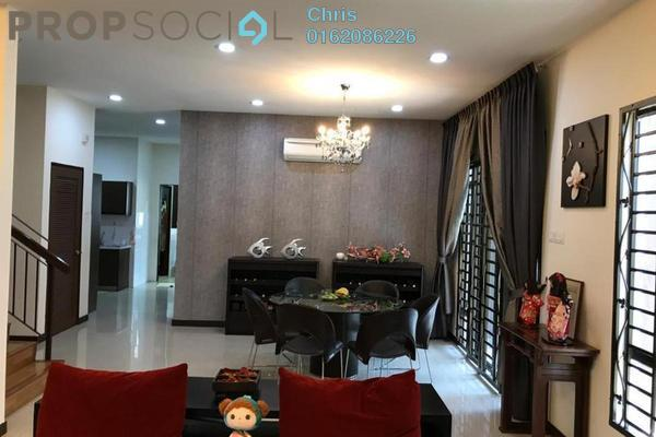 Terrace For Sale in Mutiara Bukit Jalil, Bukit Jalil Freehold Fully Furnished 6R/6B 1.7m
