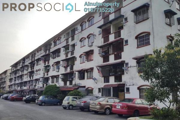 Apartment For Sale in Taman Setia Balakong, Balakong Freehold Unfurnished 3R/2B 150k