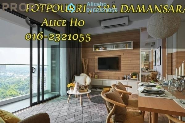 Condominium For Sale in The Potpourri, Ara Damansara Leasehold Fully Furnished 1R/1B 745k