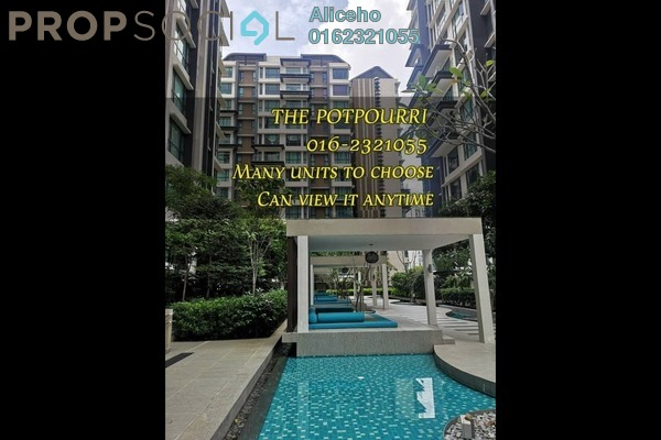 Serviced Residence For Rent in The Potpourri, Ara Damansara Freehold Fully Furnished 1R/2B 2.8k