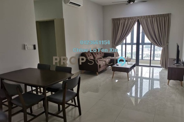 Condominium For Rent in The Haute, Keramat Freehold Fully Furnished 3R/2B 2.4k