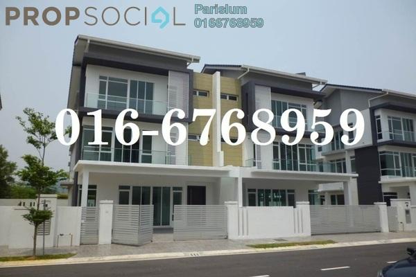 Semi-Detached For Sale in Section 3, Bandar Mahkota Cheras Freehold Unfurnished 7R/6B 1.6m