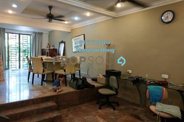 Terrace For Sale in Taman Pelangi, Johor Bahru Freehold Fully Furnished 4R/3B 680k