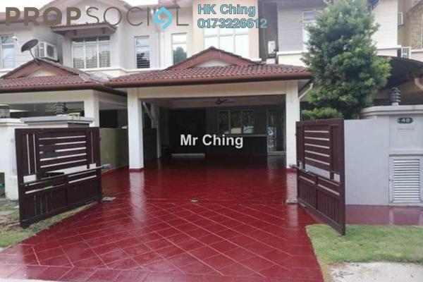Terrace For Rent in Canal Gardens, Kota Kemuning Freehold Fully Furnished 5R/5B 2.8k