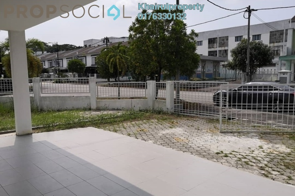Terrace For Rent in Seri Bangi, Bandar Baru Bangi Freehold Semi Furnished 5R/3B 1.9k