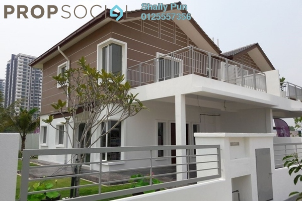 Terrace For Rent in Desiran Bayu, Puchong Freehold Semi Furnished 4R/3B 2.3k
