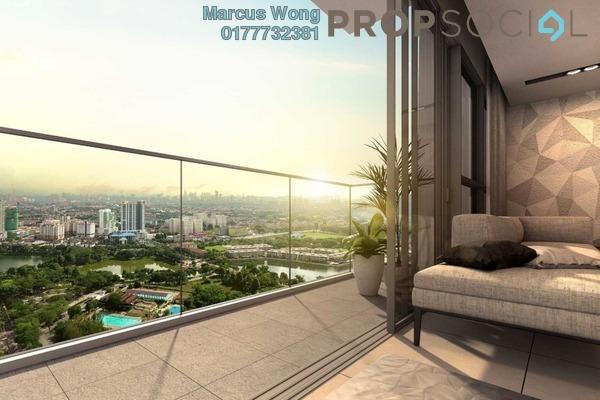 Serviced Residence For Sale in Panorama Residences, Kelana Jaya Leasehold Semi Furnished 2R/2B 720k