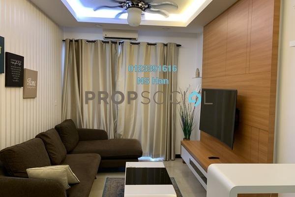 Serviced Residence For Sale in Silverscape @ Hatten City, Bandar Melaka Leasehold Fully Furnished 2R/2B 550k