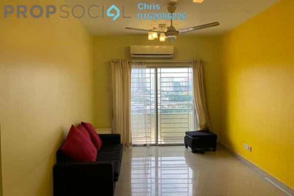Condominium For Rent in Kinrara Mas, Bukit Jalil Freehold Fully Furnished 4R/2B 1.5k