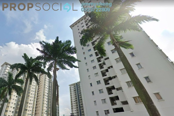 Condominium For Rent in Endah Regal, Sri Petaling Freehold Semi Furnished 3R/2B 1.7k