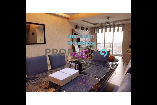 Serviced Residence For Sale in Austin Suites, Tebrau Freehold Fully Furnished 3R/2B 470k