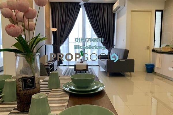 SoHo/Studio For Rent in D'Pristine, Medini Freehold Fully Furnished 1R/1B 1.4k