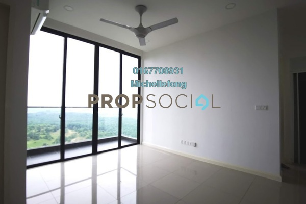 Serviced Residence For Rent in D'Pristine, Medini Freehold Semi Furnished 1R/1B 1.2k