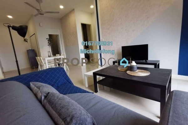 Serviced Residence For Rent in D'Pristine, Medini Freehold Fully Furnished 2R/2B 1.6k