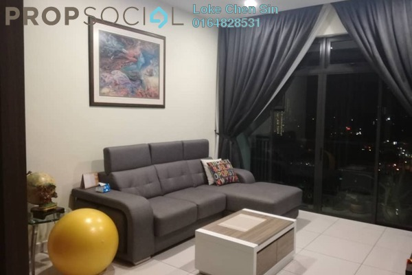 Condominium For Sale in Aspen Residence, Jelutong Freehold Unfurnished 3R/2B 750k