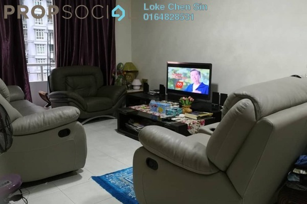 Condominium For Sale in BaysWater, Gelugor Freehold Fully Furnished 4R/2B 900k