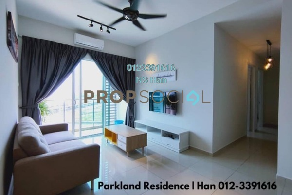 Serviced Residence For Rent in Parkland Residence, Cheras South Freehold Fully Furnished 3R/2B 2.1k