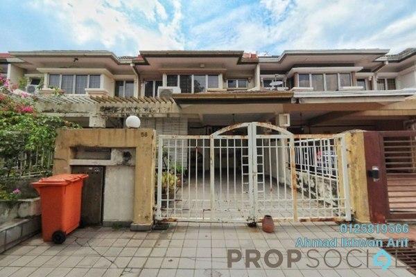 Terrace For Sale in BU3, Bandar Utama Freehold Semi Furnished 4R/3B 1.25m