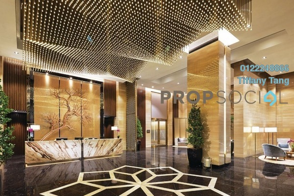 Serviced Residence For Sale in The Ritz-Carlton Residences, KLCC Freehold Fully Furnished 2R/2B 4.55m