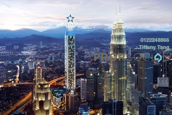 Serviced Residence For Sale in Star Residences, Kuala Lumpur Freehold Semi Furnished 1R/1B 1.88m