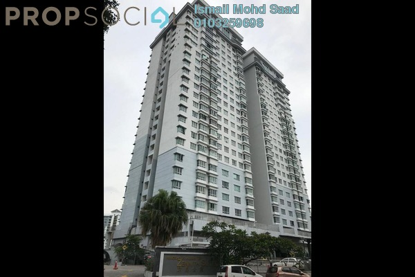SoHo/Studio For Sale in Taman Kebun Teh, Johor Bahru Leasehold Fully Furnished 1R/1B 285k