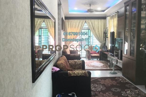 Terrace For Sale in Taman Bestari Indah, Ulu Tiram Freehold Semi Furnished 3R/2B 458k