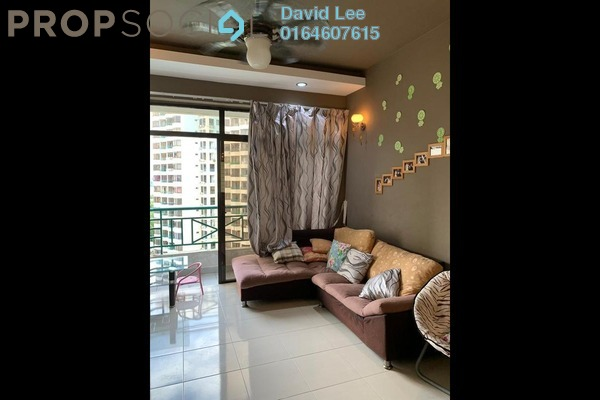 Condominium For Sale in Sunny Ville, Batu Uban Freehold Semi Furnished 3R/2B 410k