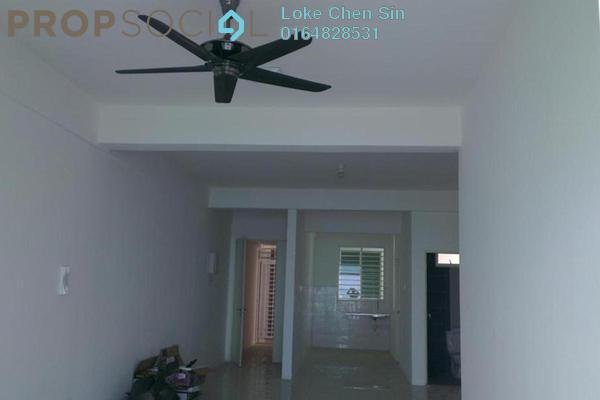 Condominium For Rent in The Oasis, Gelugor Freehold Semi Furnished 3R/2B 1.6k