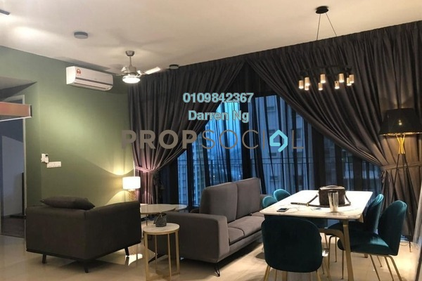 Condominium For Rent in Sunway Mont Residences, Mont Kiara Freehold fully_furnished 3R/3B 6k