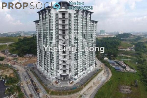 Condominium For Rent in V'Residence, Cyberjaya Freehold Semi Furnished 3R/2B 1.1k