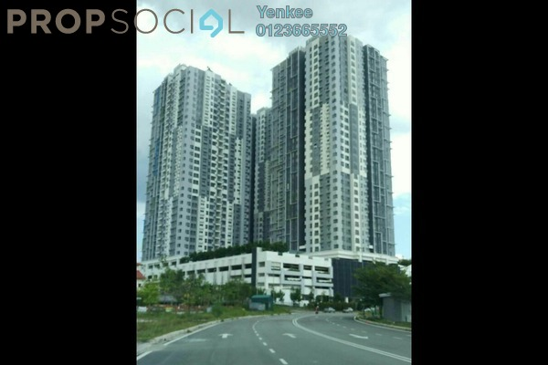Condominium For Rent in The Wharf, Puchong Freehold Semi Furnished 3R/2B 1.3k