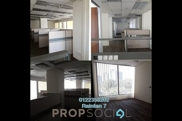 Office For Sale in Plaza Dwitasik, Bandar Sri Permaisuri Freehold Semi Furnished 0R/4B 2.69m