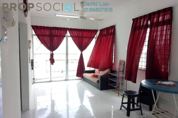 Condominium For Sale in Relau Indah, Relau Freehold Unfurnished 3R/2B 270k