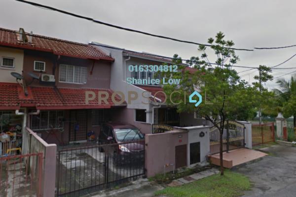 Terrace For Sale in PU5, Bandar Puchong Utama Freehold Semi Furnished 4R/3B 420k