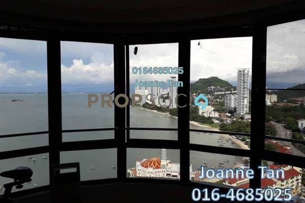 Condominium For Rent in Twin Towers, Tanjung Bungah Freehold Fully Furnished 2R/2B 1.3k