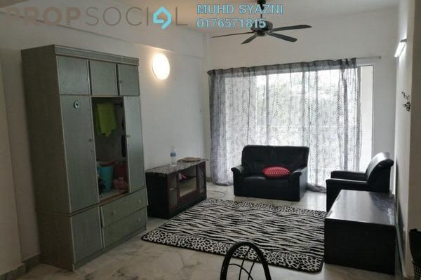 Condominium For Rent in Sri Permata, Shah Alam Freehold Semi Furnished 3R/2B 1.45k
