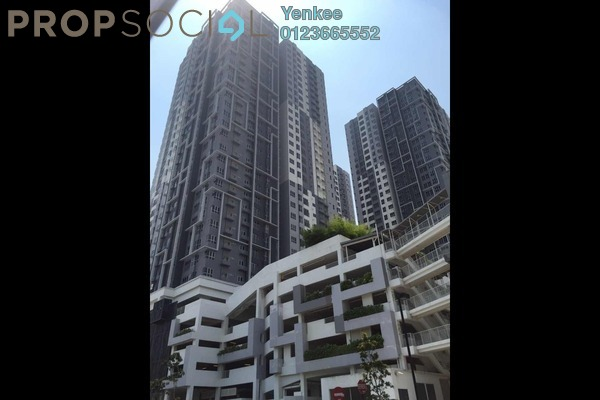 For Rent Condominium at The Wharf, Puchong Freehold Fully Furnished 1R/1B 1.1k